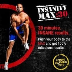 insanity max 30 workout