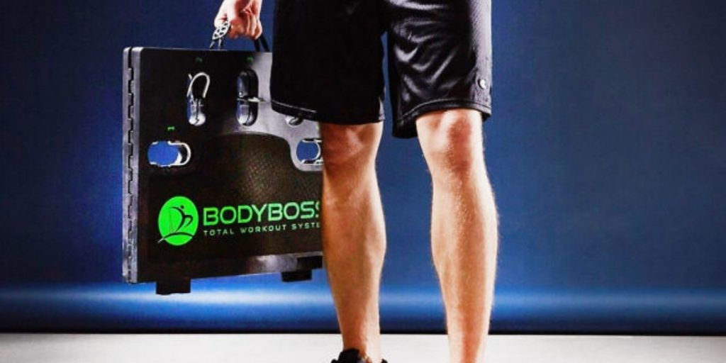 bodyboss portable home gym portability