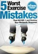5 worst exercise mistakes