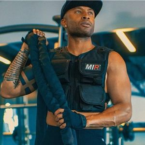 miR Short Weighted Vest with Zipper Option