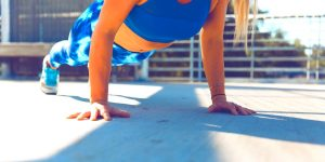 push up routine for beginners