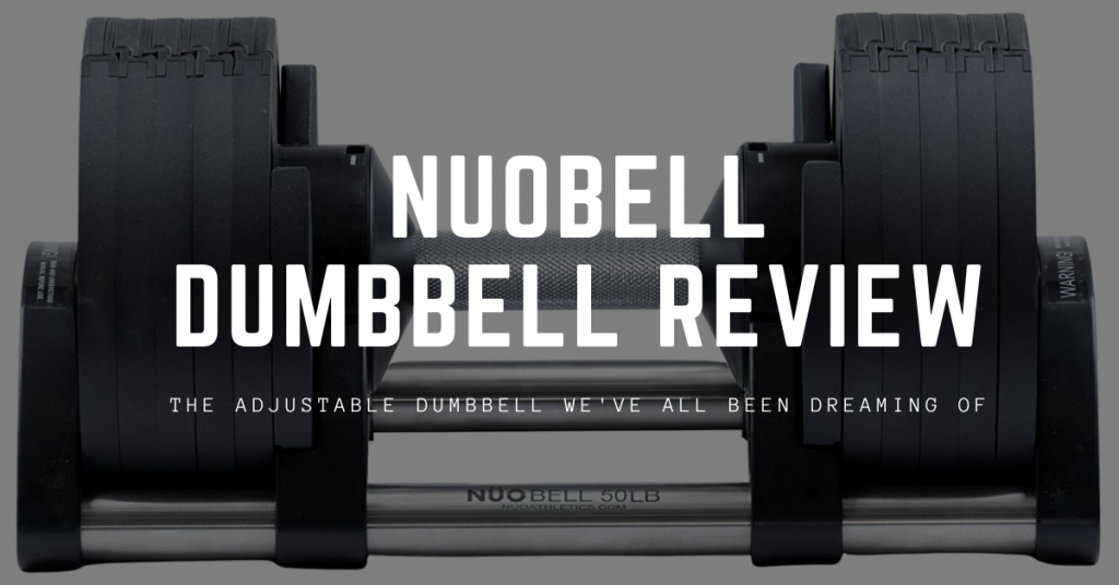 nuobell adjustable dumbbell review